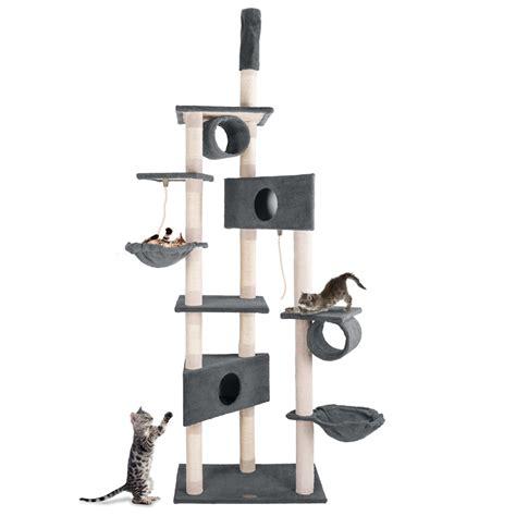 tiragraffi a soffitto tiragraffi gatti al soffitto 230 260cm albero gatti