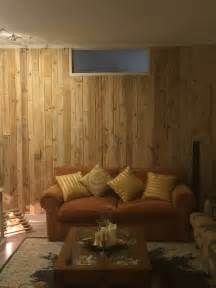 Dog Room Divider - pallet wood wall paneling stairway and living room by billy coleman easycraft gr
