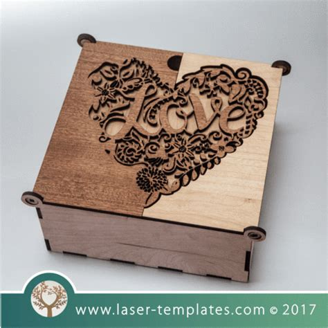 laser cut wood box template laser cut wooden boxes template collection laser ready