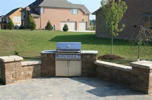 patio built in grill pittsburgh outdoor kitchens backyard built in gas bbq grill