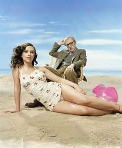 Vanity Fair Scarlett Johansson Scarlett Johansson And Woody Allen Enjoy The Beach