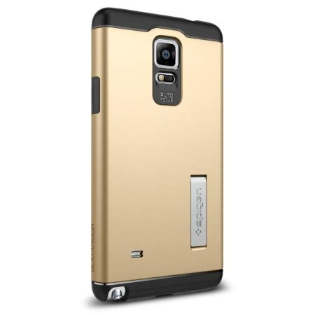 Spigen Iron Tough Armor Samsung Note 4 N910 Hardcas Limited spigen slim armor samsung galaxy note 4 tough chagne gold reviews mobilezap australia