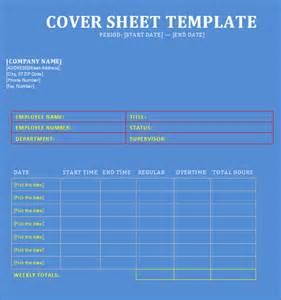 sle cover sheet template 9 free documents