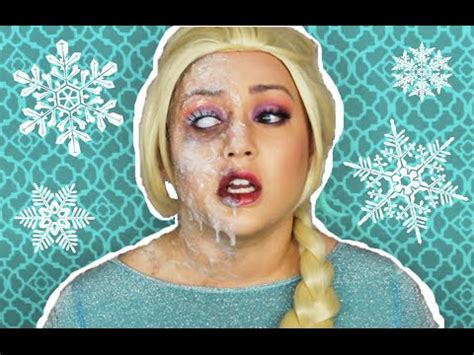queen elsa makeup tutorial frozen makeup tutorial videolike