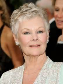 Short hairstyles for women over 60 with fine hair dench atypical 60