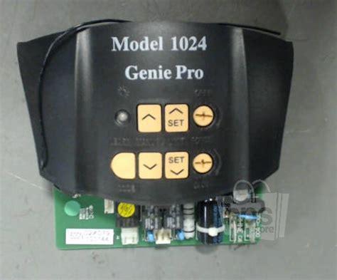 Genie Garage Door Opener Model 1024 Genie Pro 1024 Black Circuit Board For Garage Door Opener Ebay