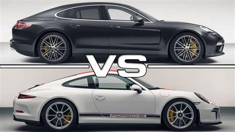 Porsche Panamera 911 porsche panamera turbo vs porsche 911 r