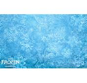 Snowflakes And Ice Background Image From Disney's Animated Movie