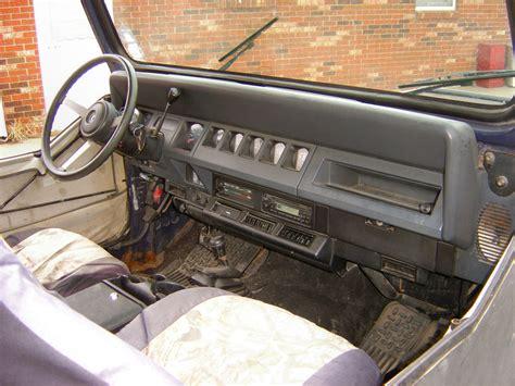jeep wrangler yj dashboard 1990 jeep wrangler dash board replacement