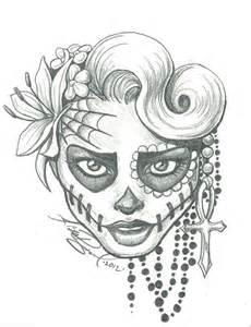Sugar skull two by leelab on deviantart