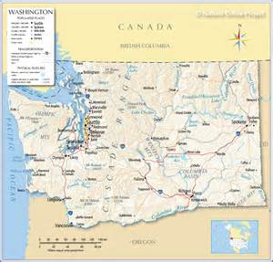 Washington state map foto artis candydoll