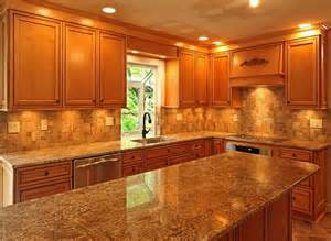 Choosing the best kitchen paint colors with honey oak cabinets