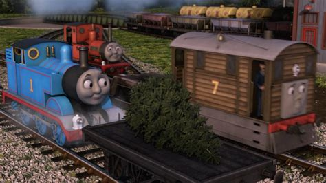 the christmas tree express thomas the tank engine wikia