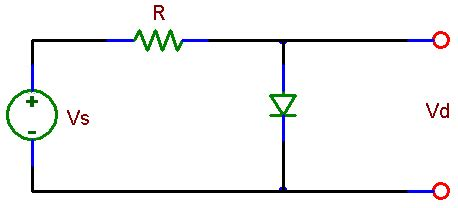 resistor and zener diode in series ece 291 lab 9 the diode and the diode circuit