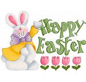 Full View And Download Happy Easter Bunny Wallpaper With Resolution Of