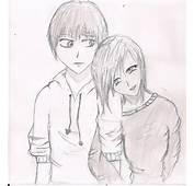 Anime Couple By Squazle On DeviantArt