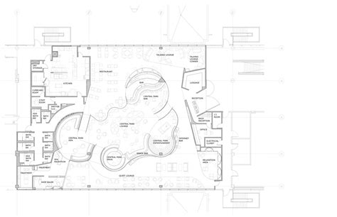 design brief of new clubhouse and cement deck virgin atlantic clubhouse slade architecture archdaily