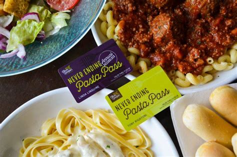 olive garden 8 week pass you can get a pass for a year of pasta at olive garden las vegas review journal