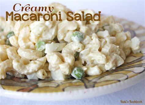 creamy macaroni salad creamy macaroni salad 101taste
