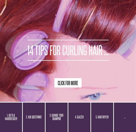 14 Tips For Curling Hair by Glazes 14 Tips For Curling Hair