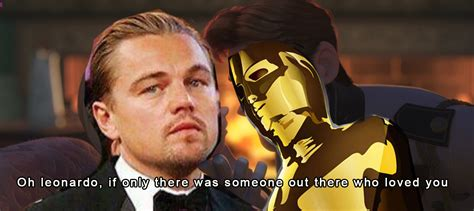 Leonardo Oscar Meme - image 710014 leonardo dicaprio gets snubbed by oscar know your meme