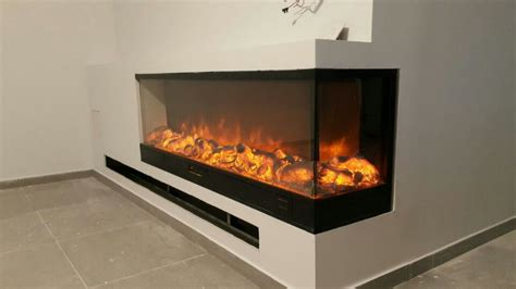 2 sided electric fireplace decorative two sided electric fireplace in electric