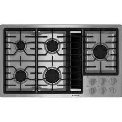 Design Ideas For Gas Cooktop With Downdraft Gas Downdraft Cooktop 36 Quot Jenn Air