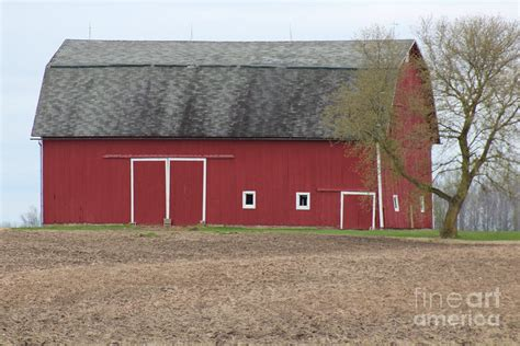 Barn Hip Roof Designs Hip Roof Barn Photograph By Kripa