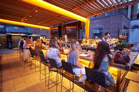 Roof Top Bar by Best Rooftop Bars In Nyc For Outdoor With A View