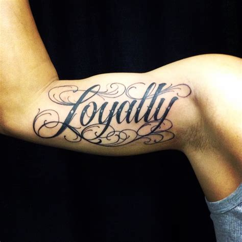 loyalty tattoo on forearm 20 faithfull loyalty designs for those who care