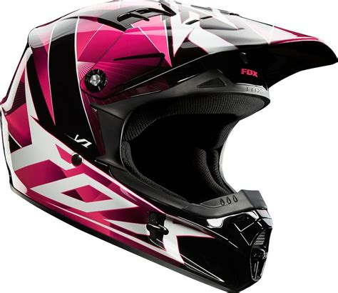 girls motocross helmet 109 95 fox racing girls v1 radeon helmet 195018