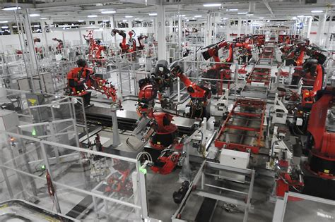 Tesla Motors Fremont Address Unions Press For Place With Tesla Sfgate