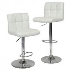 White Leather Bar Stool 35 Stylish Modern Adjustable White Leather Bar Stools