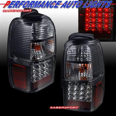 2000 4runner led lights 1996 2000 toyota 4runner quot l e d quot lights led black