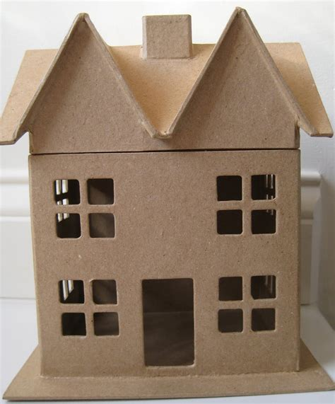 Craft Paper House - haunted paper houses the creative studio