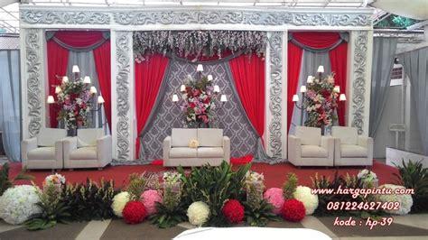 harga set dekorasi pengantin dekor pelaminan murah