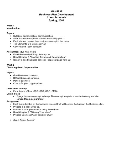 business plan operations section business plan development doc