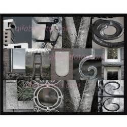 items similar to alphabet letter photography home decor