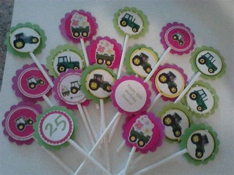 Deere Cupcake Decorations by 50 Best Images About Cupcake Toppers On