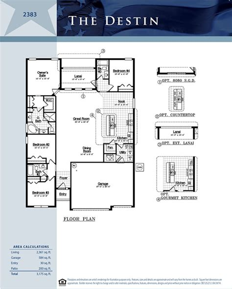 dr horton destin floor plan destin turtle creek saint cloud florida d r horton