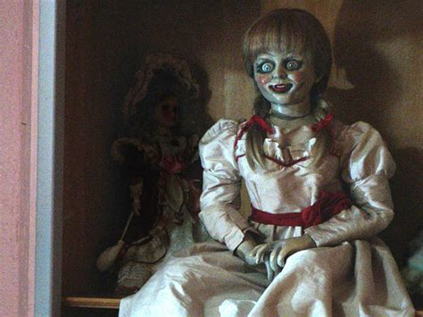 annabelle doll in london horror on scary haunted dolls that will freak you