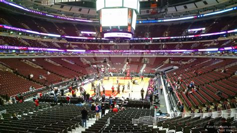 section 116 united center united center section 116 chicago bulls rateyourseats com