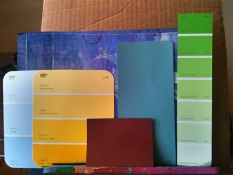 pin paint color cards jotun chugoku on
