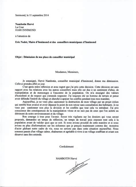 Exemple De Lettre De Demission Canada Modele Lettre De Demission En Anglais Document