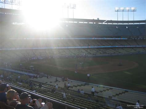 dodger stadium sections dodger stadium section 152 rateyourseats com