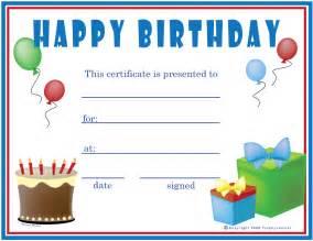 birthday cheque template free birthday boy certificates certificate free