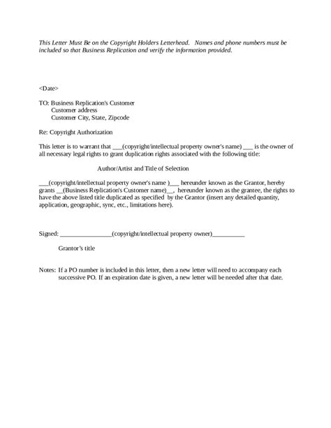 authorization letter sle transfer ownership 28 images
