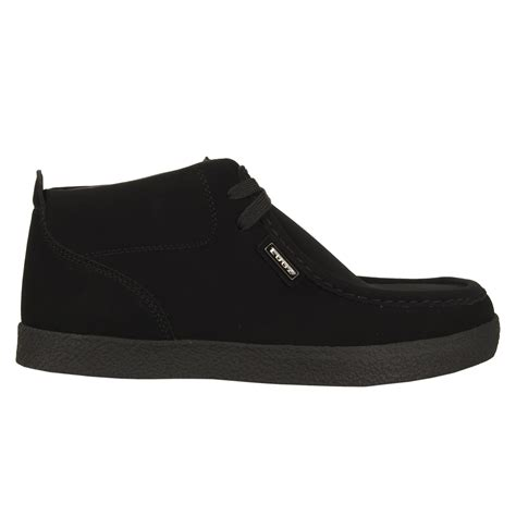 lugz strider crepe mens shoe black stylish footwear