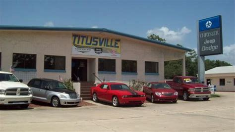 Jeep Dealers In Florida Titusville Chrysler Dodge Jeep Titusville Fl 32780 Car
