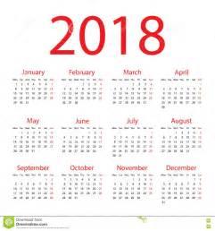 Mexico Kalendar 2018 календарь 2018 иллюстрация вектора изображение 76281294
